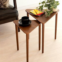 Solid wood side of the corner a few modern minimalist small coffee table living room sofa side table(China)