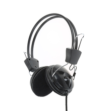 Newest Wired Headphone with Microphone MIC Headset Skype for PC phone Computer Laptop game headphone(China)