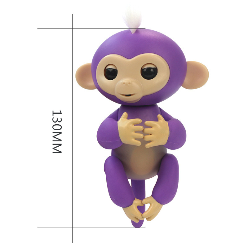 2017 New Fingerlings Interactive Baby Monkeys Toy Smart Colorful Fingers Llings Smart Induction Toys Christmas Gift Toy For Kids 13