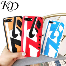 Phone Case iPhone 6 6S 7 8 Plus Fashion Us Street Trend 3D Shoes Air Dunk Jordan Cover Back Cases iPhone X 10 XS XR MAX