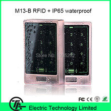 IP65 waterproof RFID card access control system EM card reader M13-B standalone wiegand input and output access controller(Hong Kong,China)