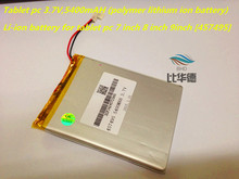 Tablet pc 3.7V,5400mAH (polymer lithium ion battery) Rechargeab battery for tablet pc 7 inch 8 inch 9inch [457495] Free Shipping