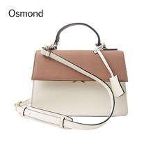 Osmond New Luxury Designer Handbag High Quality Ladies Hand Bags Clutch Women Crossbody Shoulder Messenger Bag Leather Panelled(China)