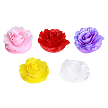 4-PCs Creative Festival Fabric Waterproof Art LED Rose Light Simulated Rose Lamp Waterproof Wishing Lamp Wedding/Store Window