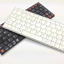 Ultra - thin wireless Bluetooth keyboard mobile phone Tablet PC Universal aluminum metal Bluetooth keyboard(China)