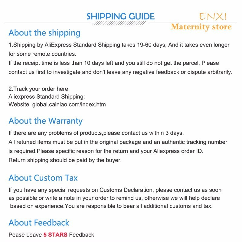 ENXI 2018 Spring Summer Fashion Black Print Maternity Blouses O Neck Loose Clothes For Pregnant Women NEW Pregnancy Shirts Tops