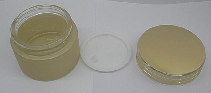 20g golden glass frosting cream jar packing bottle,Cream box / bottle<br>