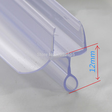 5pcs in a package Me-306 Bath Shower Screen Rubber Big Seals waterproof strips glass door seals length:700mm gap 8-12mm