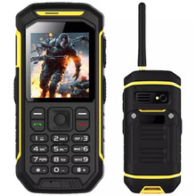 Gift Charger Original Phone X6 GSM Senior old man phone Walkie Talkie PTT 2500mAH Shockproof Dustproof Phone W3 H3 P69 F8 l8 h1