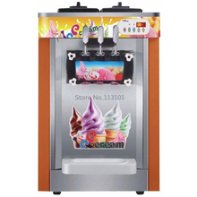 Soft Serve Ice Cream Maker Three Flavors Original Brand New Ice Cream Machines CE Certificate
