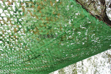 2X3M Three Layers Sun-shading netting jungle Camouflage net for decoration hunting camping military birding roof top tent