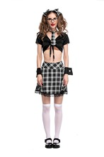 2017 Hot Sale Sexy Costumes Women Lingerie Role-playing Party Uniform Students Dress Schoolgirl Uniform Sexy Girl Dress Costume(China)