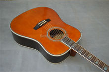 IN STOCK Popular 41inch SOLID Spruce Top   ROSEWOOD BACK SIDE Dreadnought Acoustic Guitar