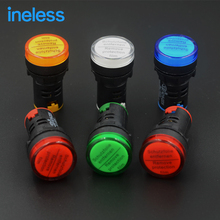AD16-22DS LED power signal light 220V 24V 22MM five colors optional Long life and high cost