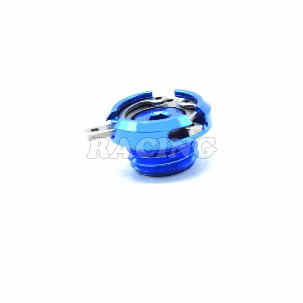 Motorcycle M20*2.5 Engine Oil Filler Cap blue CNC Filler Cover Screw for honda hornet 600 cb600f ducati multistrada 1200<br><br>Aliexpress