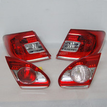 CAPQX 4PCS NEW Tail Light Lamp 81561-YK010 For 2010 2011 2012 COROLLA EX ZRE120 Rear Light Taillamp(China)