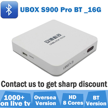 Unblock TV box 2017 latest UBOX3 S900 Pro BT 16G bluetooth HDMI Oversea Version Android 5.1 8 cores 1000+ IPTV channels