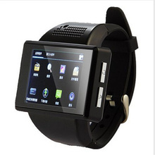 2016 Smartwatch AN1 Smart Watch WIFI Android Mobile Watch Phone Touch Screen Camera Bluetooth WIFI GPS Single SIM Phone(China)