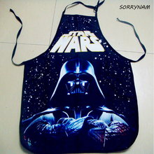1 шт./компл. tablier кухни новый Дарт Вейдер Star Wars Винда Косплэй Мужской фартук(China)