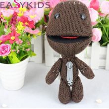 Sackboy Cuddly Knitted Stuffed Doll Little Big Planet Plush Toy Figure Toys Cute Kids Animal Comfort Doll kids gifr(China)