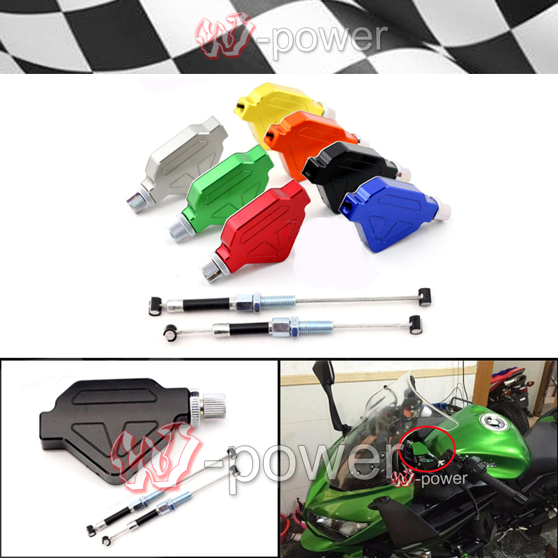 fite For YAMAHA XJ6 / Diversion / F 2009-2013  Motorcycle accessories Aluminum Stunt Clutch Easy Pull Cable System NEW 7 colo<br><br>Aliexpress