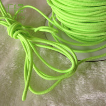 13 Colors Round Elastic Cord Beading Stretch Thread String Rope for DIY Clothes Making Supplies 3mm QXRE-02