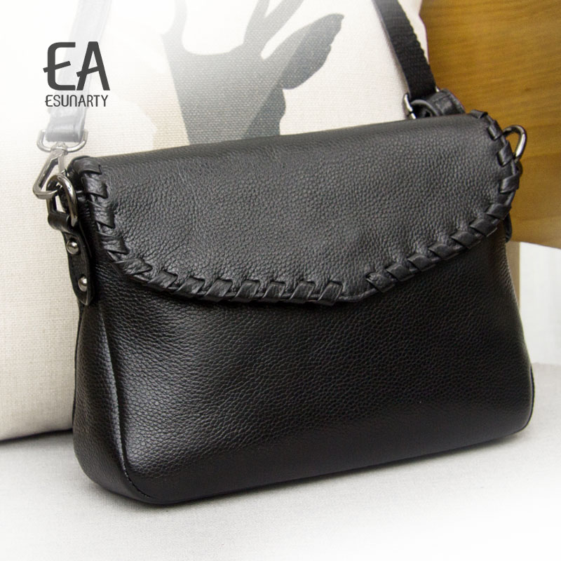 High quality 100% genuine leather women shoulder bag head layer cowhide messenger crossbody bag for lady hot selling handbag<br>
