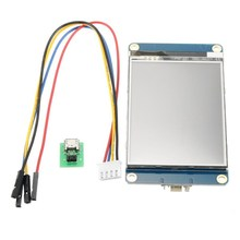 "English Version NX3224T028 2.8"" 320 x 240 HMI Intelligent Smart USART UART Serial Touch TFT LCD Module Panel For Arduino Kits(China)"
