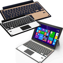 New Arrival Ultra Slim Metal Bluetooth Keyboard with Touchpad For Microsoft Surface pro3 pro4 EM88(China)