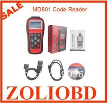 DHL Free Autel MaxiDiag Pro MD801 Scanner top quality Diagnose MD801(JP701 + EU702 + US703 + FR704) MD 801 Code Reader in stock