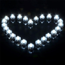 24pcs/lot Waterproof Underwater Battery Powered Submersible LED Tea Lights Candle for Wedding Party