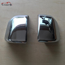 CITYCARAUTO high quality  Side Mirror Frame ABS Chrome Rearview Cover Trim for Ford F150 F-150 2016 2pcs