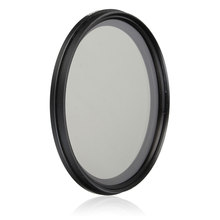 77mm ND Filter Fader Neutral Density Adjustable ND2 to ND400 Variable Filter 77mm for Canon for Nikon Camera