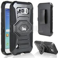 For S6 Active Case,  Impact Rugged Hybrid Case Protective Cover Holster Hard Stand cover For Samsung Galaxy S6 Active G890