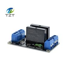 5V 2 Channel OMRON SSR High Level Solid State Relay Module 250V 2A for Arduino New