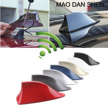 Car styling SUV RV Shark Fin Antenna Universal Roof Radio FM/AM Aerial Decorate Antenna fit for toyota bmw honda audi