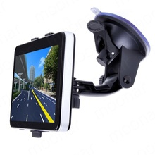 5 Inch GPS Car Navigation MTK 8GB Capacity UK EU AU NZ Maps Speedcam POI with Sunshade(China)