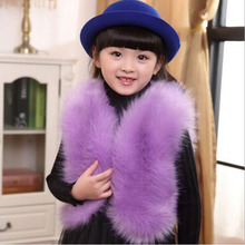 2017Autumn Winter Girl's Vest Faux Fur Girl Clothes Fashion Children Outfits Girl Waistcoats Kid's Apparel Baby Girl Vest SN0222