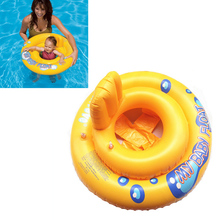 Baby Infant Kids Toddler Swimming Seat Pool Float Ring Bath Buoyancy Aid Water Fun(China)