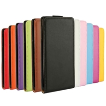 For Sony Xperia Z4 Genuine Leather Case Luxury Vertical Magnetic Flip Phone Accessories Cover PS(China)