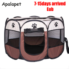 114cm Pet Cage 600D Oxford Dog Cage For Dog Cat Fence Kennel Dog House Outdoor Cat House Dog Playpen Playpen Exercise