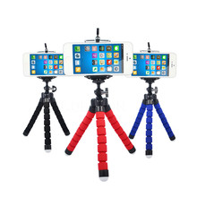 Flexible Holder Octopus Tripod Bracket Stand Mount Monopod Digital Camera for Gopro Hero 3 4 for iPhone 6 7 Huawei Phone s7 s8(China)