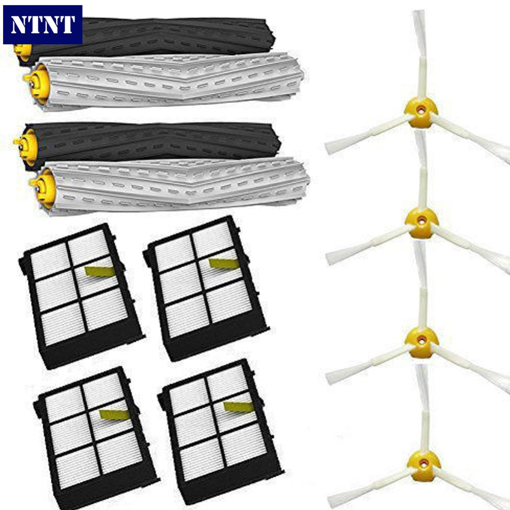 NTNT Free Shipping New 800 series Filters brush Tangle-Free Debris Extractor for iRobot Roomba 870 880<br>