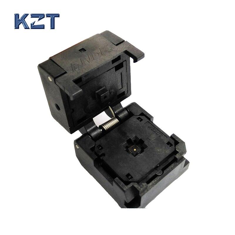 QFN16 MLF16 Burn in Socket IC Test Socket IC550-0164-005-G Pitch 0.4mm Chip Size 3*3 Flash Adapter Clamshell Programming Socket<br>