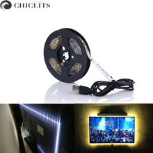 RGB Led Strip Lights DC 5V TV Backlight USB Led Flexible Strip 50CM 1M 2M 3M 4M 5M SMD3528 Tira Led Tape Bande Lighting for Home