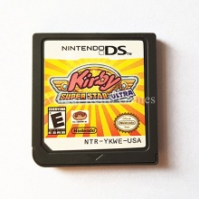 Nintendo NDS Game Kirby Super Star Ultra Video Game Cartridge Console Card US English Version