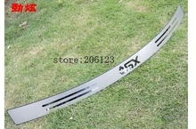 Accessories FIT FOR 2010 2011 2012 2013 2014 2015 Mitsubishi ASX Rear bumper Protector steep panel boot cover Sill plate