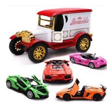 1:32 alloy vehicle model hot sale Really classic vintage car roadster McLaren kids toys toy for children Car model  Free Deliver