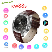 kw88s smart watch support GPS WIFI heart rate pedometer NFC Google Play Smartwatch MTK6572 1GB RAM/8GB ROM for android/iphone