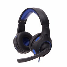 40mm Wired Surround Stereo Bluetooth Speaker 3.5mm Stereo Music Headset With Soft Cushion with Mic for PC(China)